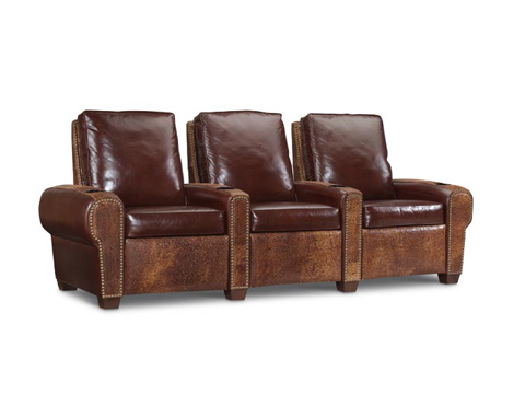 Leathercraft - Davis Series Home Theatre Seating - 357/367