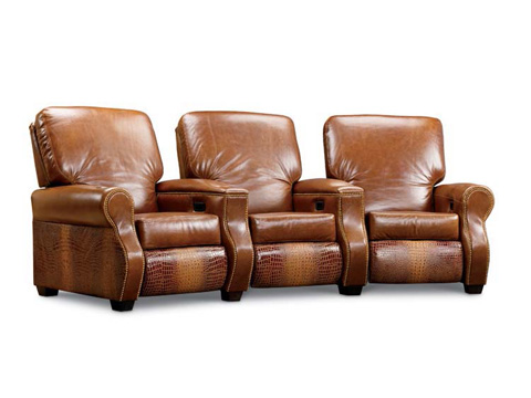 Leathercraft - Redford Series Home Theatre Seating - 377/387