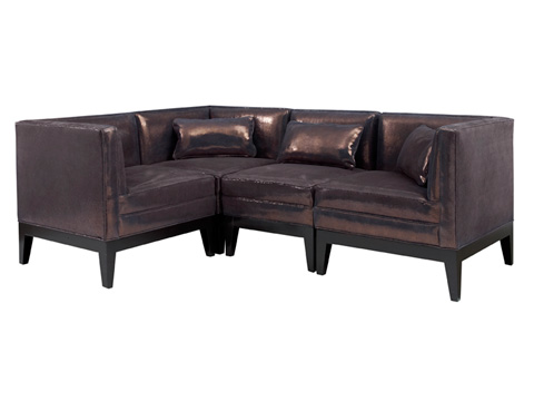 Leathercraft - Princeton Series Sectional - 4352