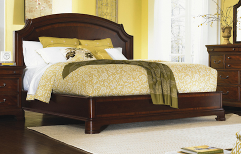 Image of Evolution Five Piece Sleigh Bedroom Set