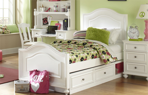 Legacy Classic Furniture - Full Panel Bed with Underbed Storage Drawer - 2830-4204KS