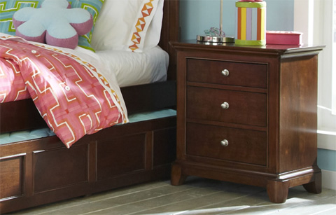 Legacy Classic Furniture - Three Drawer Nightstand - 2880-3100