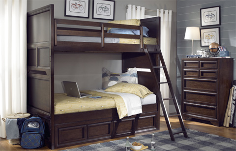 Legacy Classic Furniture - Twin Over Twin Bunk Bed - 2970-8110K