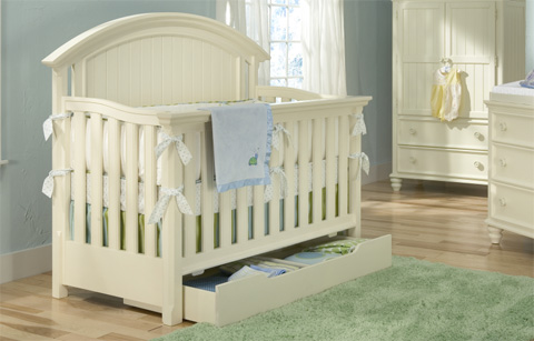 Legacy Classic Furniture - Nursery Convertible Crib - 481-8900C