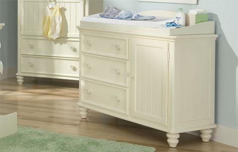 Legacy Classic Furniture - Nursery Changing Station & Dresser - 481-1000/7500C
