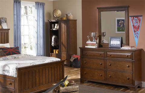 Legacy Classic Furniture - Dresser with Mirror - 2960-0100/1100