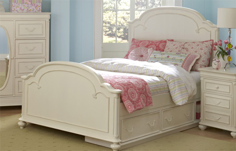 Legacy Classic Furniture - Full Arched Panel Bed - 3850-4104K