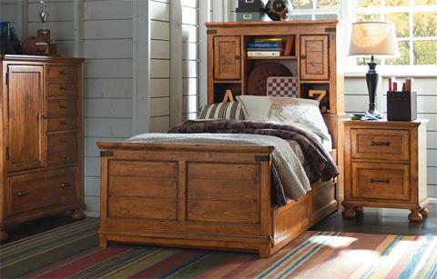 Legacy Classic Furniture - Full Bookcase Bed - 3900-4804K