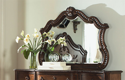 Legacy Classic Furniture - Pemberleigh Arched Mirror - 3100-0100