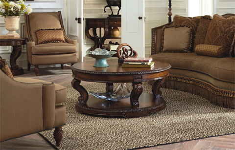 Legacy Classic Furniture - Pemberleigh Round Cocktail Table - 3100-402