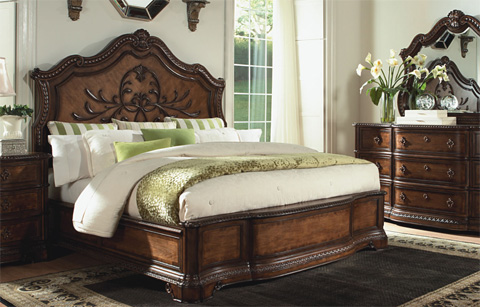 Legacy Classic Furniture - Pemberleigh Queen Panel Bed - 3100-4105K