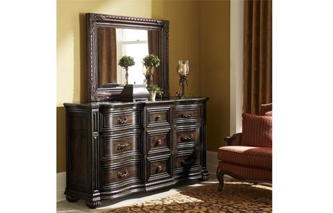Legacy Classic Furniture - La Bella Vita Landscape Mirror - 4200-0100
