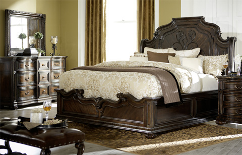 Legacy Classic Furniture - La Bella Vita Queen Sleigh Bed - 4200-4305K