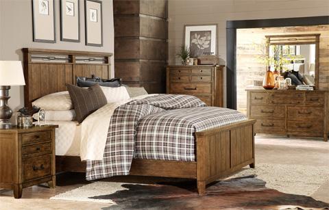 Legacy Classic Furniture - River Run California King Panel Bed - 4740-4107K