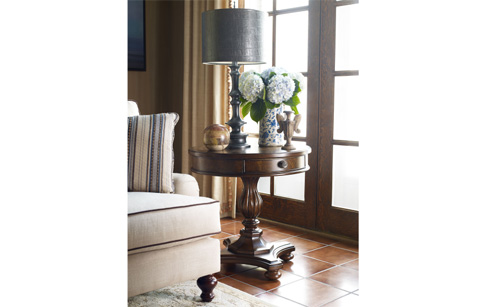 Legacy Classic Furniture - Round Lamp Table - 5200-508