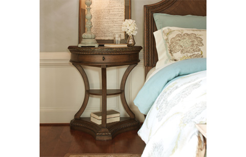 Legacy Classic Furniture - Demilune Bedside Chest - 5500-3200