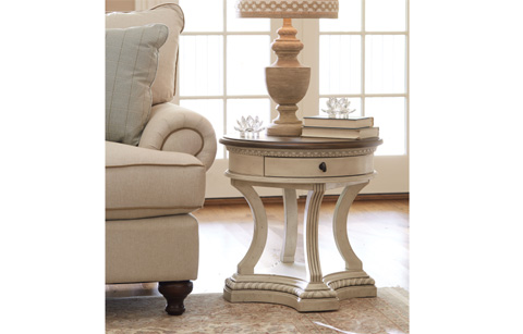 Legacy Classic Furniture - Round End Table - 5500-408