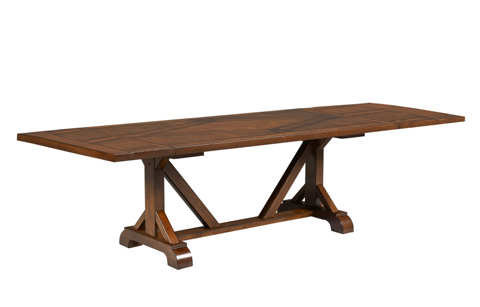 Legacy Classic Furniture - Trestle Dining Table - 931-622LCK