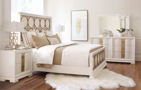 Legacy Classic Furniture - Metal Panel Bed in Queen - 5010-4405K