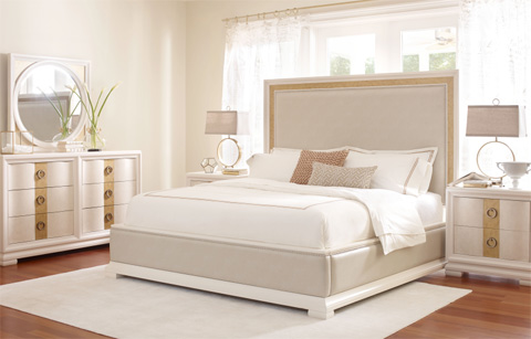 Legacy Classic Furniture - Upholstered Bed in Queen - 5010-4805K