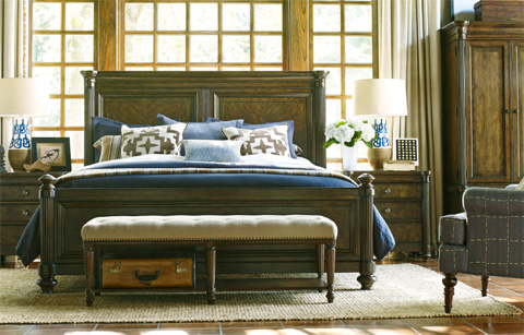 Legacy Classic Furniture - Panel Bed in Queen - 5200-4105K