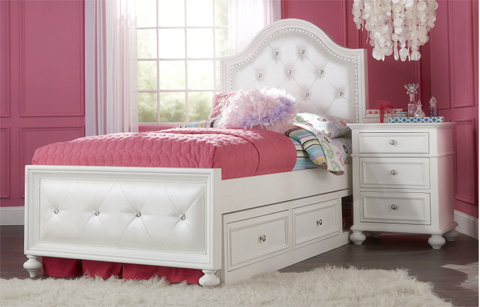 Image of Twin Upholstered Bed