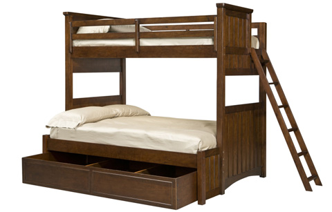 Legacy Classic Furniture - Twin over Full Bunk Bed - 2960-8506EK