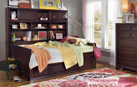 Image of Twin Bookcase Daybed