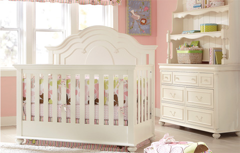 Image of Convertible Grow With Me Crib