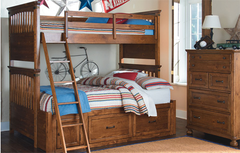 Image of Twin over Full Bunk Bed