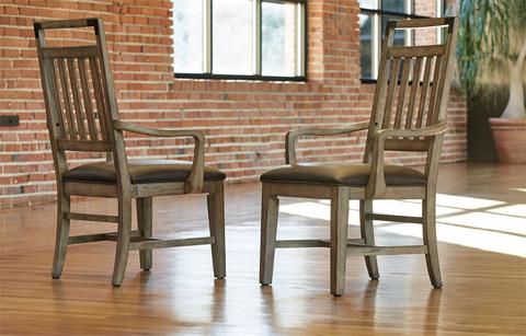 Legacy Classic Furniture - Splat Back Arm Chair - 5610-241 KD