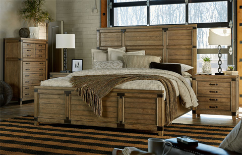 Legacy Classic Furniture - Queen Panel Bed - 5610-4105K