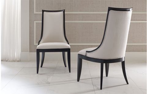 Legacy Classic Furniture - Upholstered Back Side Chair - 5640-140 KD