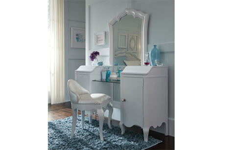 Image of Vanity with Mirror