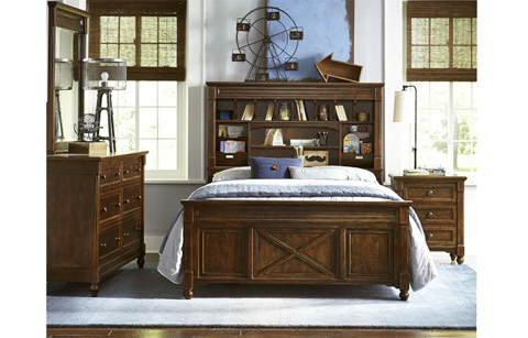 Legacy Classic Furniture - Twin Vista Point Bookcase Bed - 4920-4803K