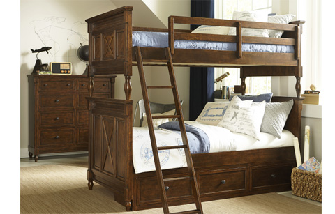 Legacy Classic Furniture - Twin over Twin Bunk Bed - 4920-8110K