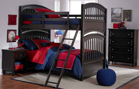 Legacy Classic Furniture - Twin Over Twin Bunk Bed - 5810-8110K