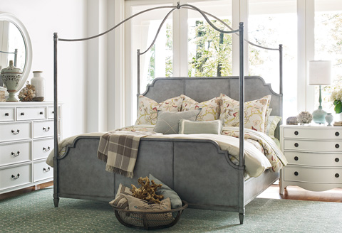 Image of Rachael Ray Queen Metal Canopy Bed