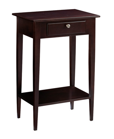 Image of Saxony Cherry Accent Table