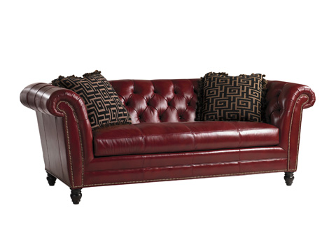 Image of Bridgewater Leather Sofa