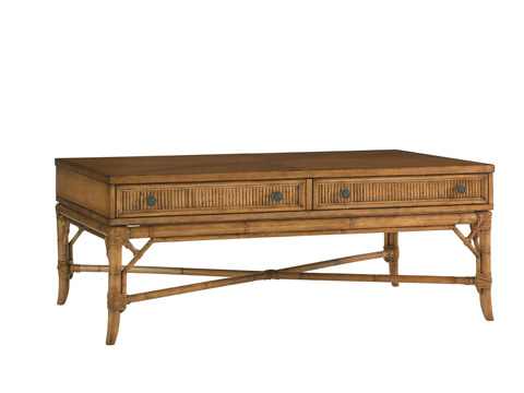 Tommy Bahama - Ponte Vedra Rectangular Cocktail Table - 540-945