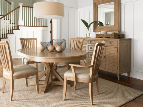 Image of 5 Piece Monterey Sands Dining Room Set
