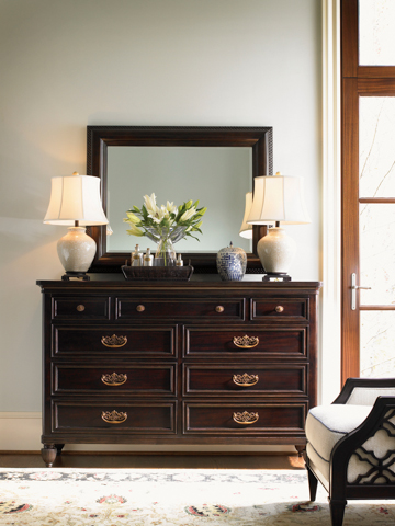 Tommy Bahama - Dresser and Mirror - 537-233/537-206