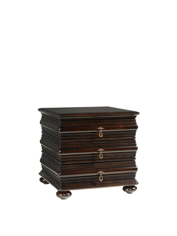 Tommy Bahama - Black Sands Lamp Table - 537-956