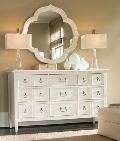 Tommy Bahama - Ivory Key Dresser and Mirror - 543-234/543-201