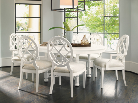 Tommy Bahama - Round Dining Table Set - 543-875DRSET