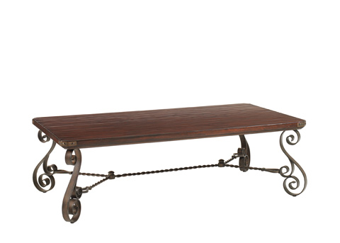 Lexington Home Brands - Cherry Creek Rectangular Cocktail Table - 455-945