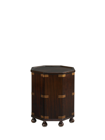 Tommy Bahama - Pacific Campaign Accent Table - 537-952