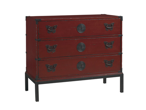Image of Papillon Rouge Hall Chest