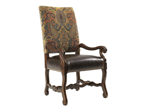 Image of Camden Leather Arm Chair